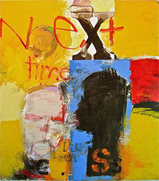 Painting - Next Time I'll Listen by Cliff Spohn