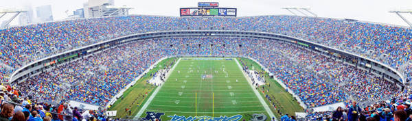 Charlotte Nc Wall Art - Photograph - Nfl Football, Ericsson Stadium by Panoramic Images