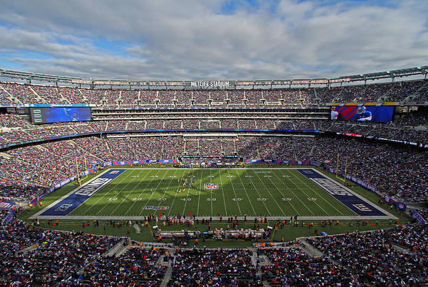 Photograph - Nfl New York Giants by Juergen Roth
