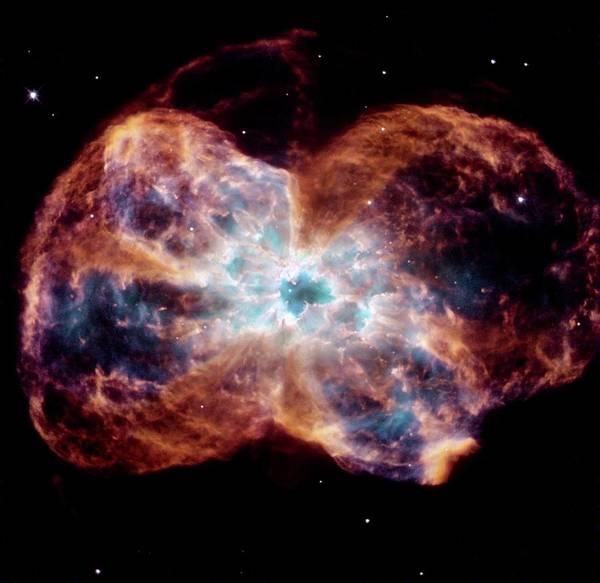 Photograph - Ngc 2440 Planetary Nebula by Nasaesastsci