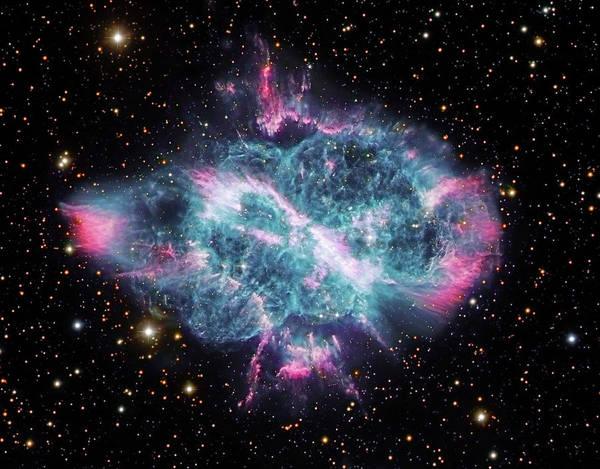 Evolution Photograph - Ngc 5189, Planetary Nebula In Musca by Robert Gendler/stocktrek Images