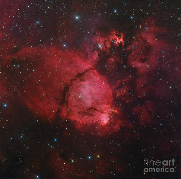 Photograph - Ngc 896 In The Heart Nebula by Bob Fera