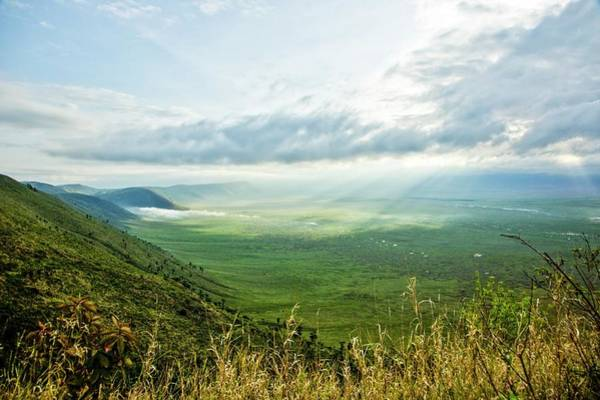 Volcanic Craters Photograph - Ngorongoro Conservation Area by Photostock-israel