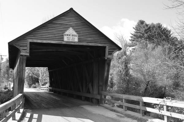 Photograph - Nh Covered Bridge by Chris Alberding