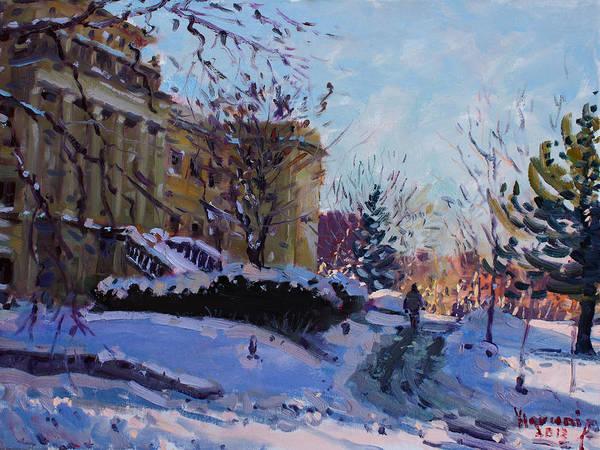 Niagara Painting - Niagara Arts And Cultural Center by Ylli Haruni
