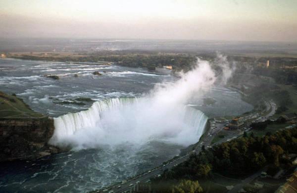 Photograph - Niagara Falls 1968 by John Mathews