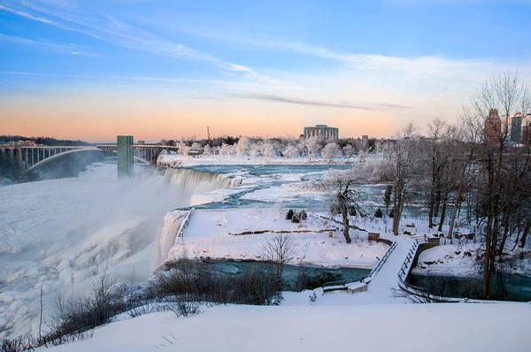 Photograph - Niagara Falls 3d22213 by Guy Whiteley