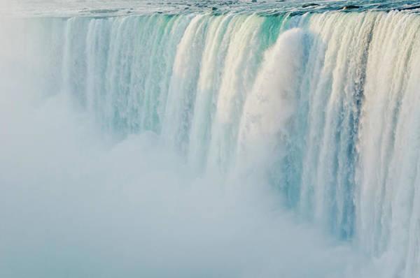 The Horseshoe Wall Art - Photograph - Niagara Falls Canada by Meshaphoto