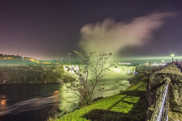 Photograph - Niagara Falls Canadian Side by Nick Mares