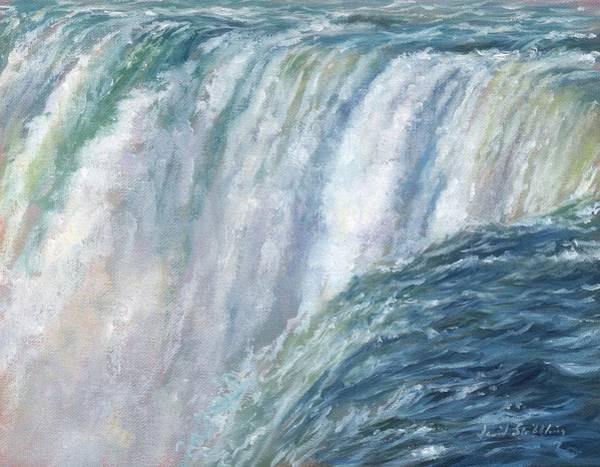 Crash Painting - Niagara Falls by David Stribbling