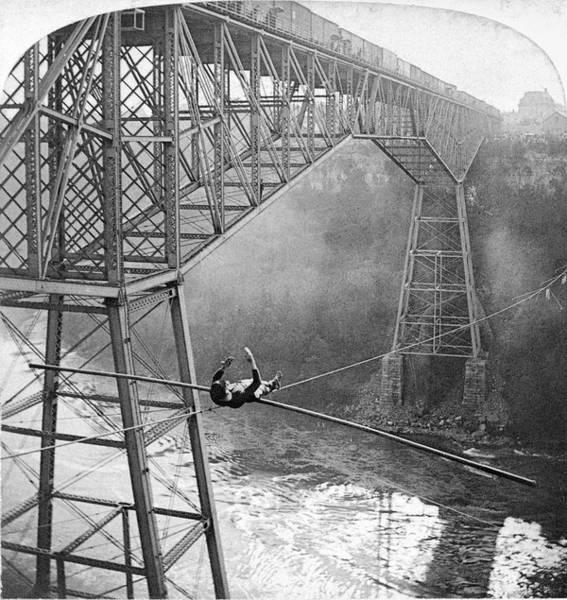 Photograph - Niagara Falls by Granger