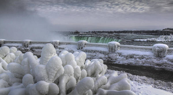 Photograph - Niagara Falls by Nick Mares