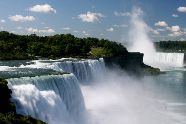 The Maid Photograph - Niagara Falls by Sandy Fraser