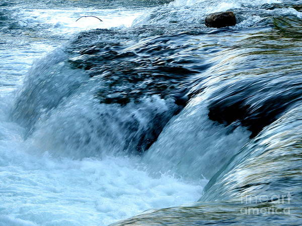 Photograph - Niagara River Rapids Above Niagara Falls by Rose Santuci-Sofranko