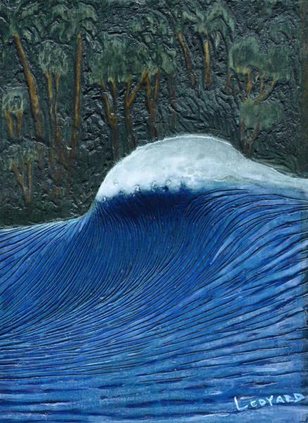 Carving Painting - Nias Peak by Nathan Ledyard