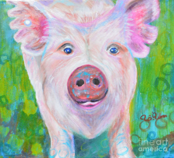 County Fair Painting - Nicki 's Portrait by To-Tam Gerwe