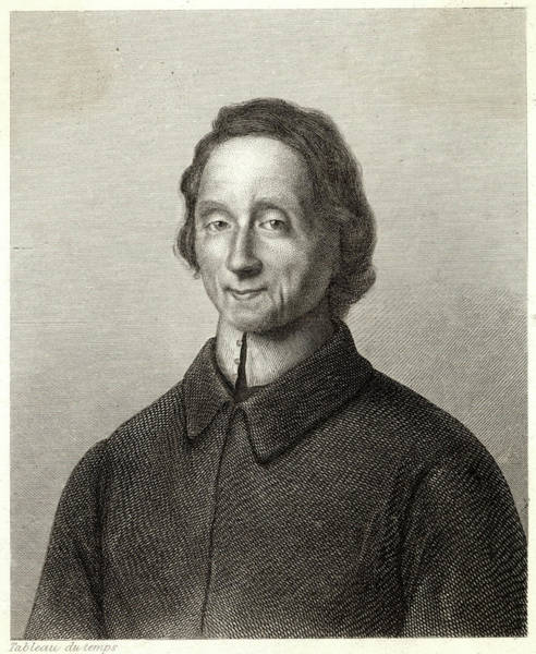 1715 Drawing - Nicolas De Malebranche  French by Mary Evans Picture Library