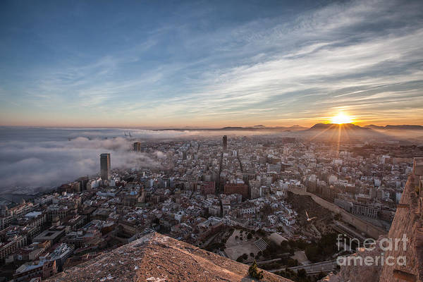 Wall Art - Photograph - Niebla En Alicante by Eugenio Moya