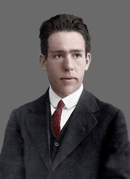 Nobel Prize Laureate Photograph - Niels Bohr by Library Of Congress