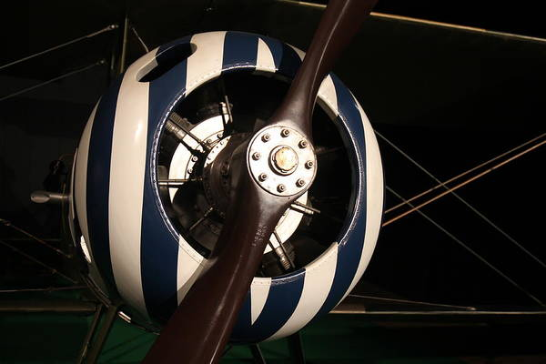 Nieuport 28 No.1 Art Print by Guerrin Lyons