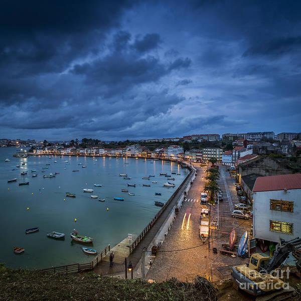 Photograph - Nighfall In Mugardos Galicia Spain by Pablo Avanzini