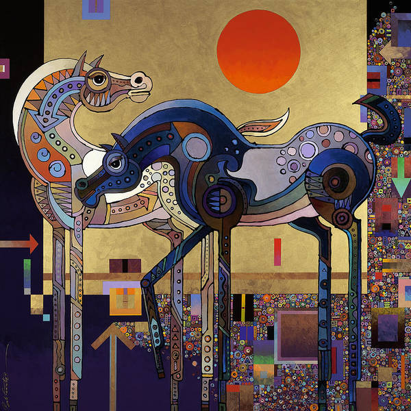 Surrealistic Painting - Night And Day by Bob Coonts