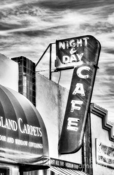 Photograph - Night And Day Bw by Mel Steinhauer