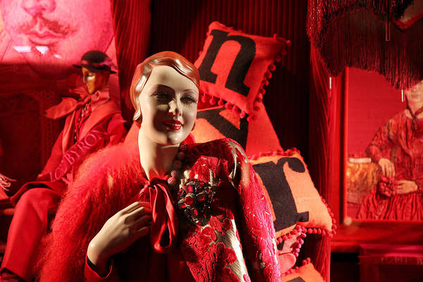 Wall Art - Photograph - Night At Bergdorf Goodman's Department Store - Christmas Window 2014 by Madeline Ellis