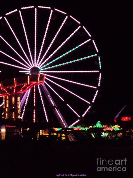 Photograph - Night At The Fair by Megan Dirsa-DuBois