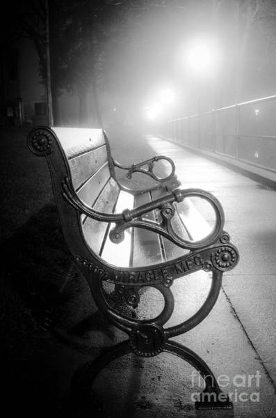 Photograph - Night At The Riverfront by Michael Arend