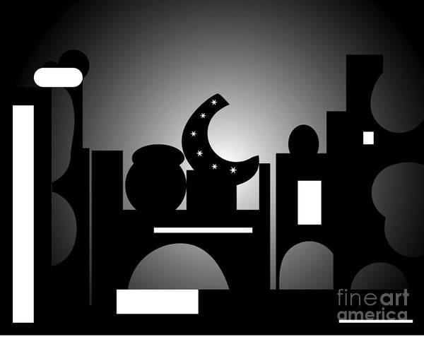 Digital Art - Night Bazaar by Barefoot Bodeez Art