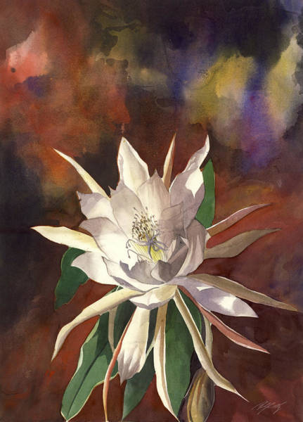 Painting - Night Bloomer by Alfred Ng