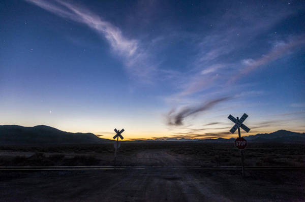Photograph - Night Crossing by Cat Connor
