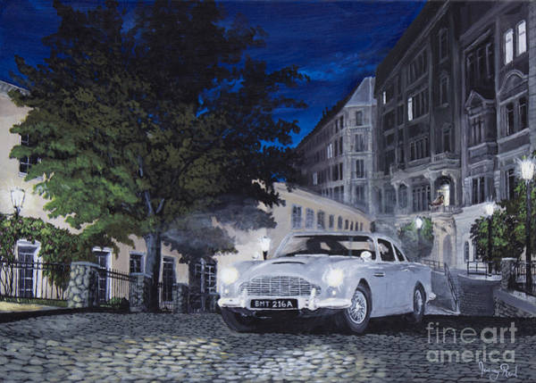 Db5 Wall Art - Painting - Night Drive by Jeremy Reed