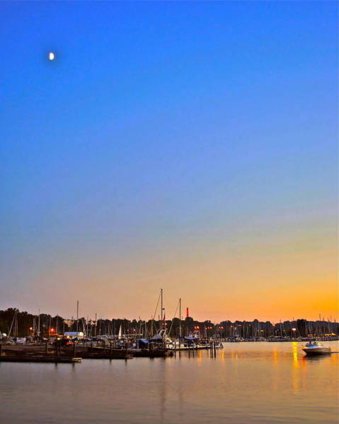 Idealistic Wall Art - Photograph - Night Fishing by Frozen in Time Fine Art Photography