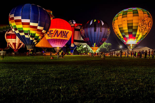 Photograph - Night Glow by Ron Pate