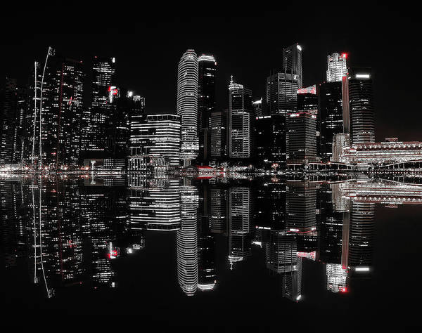 Skyline Wall Art - Photograph - Night In The City by