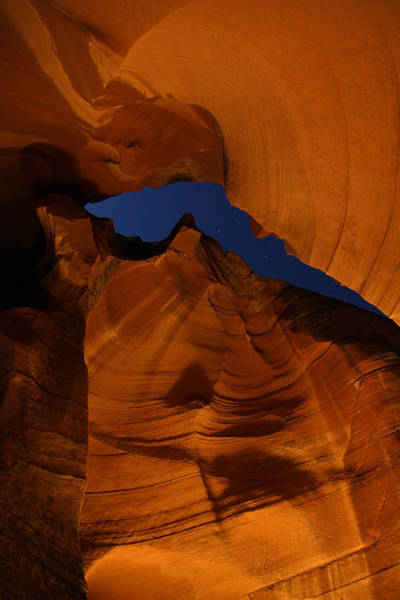 Photograph - Night In Upper Antelope Slot Canyon 19 by Jean Clark
