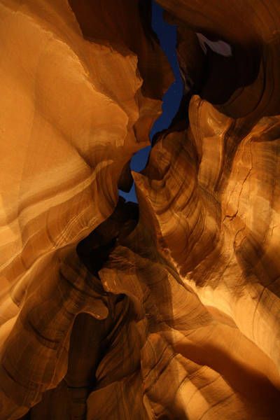 Photograph - Night In Upper Antelope Slot Canyon 23 by Jean Clark
