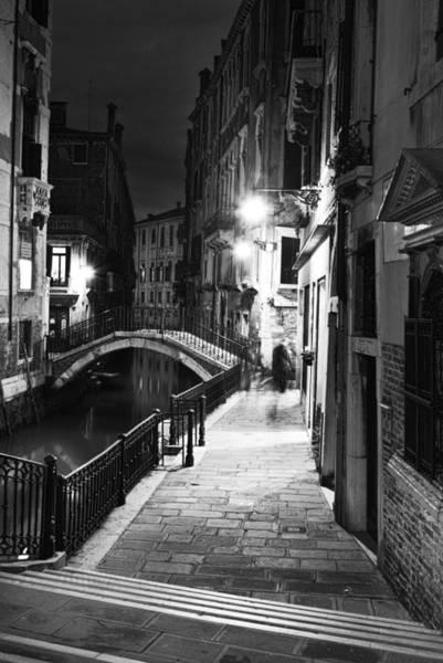 Calle Wall Art - Photograph - Night In Venice by Yuri San