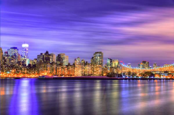Long Island City Photograph - Night Lights by Midori Chan