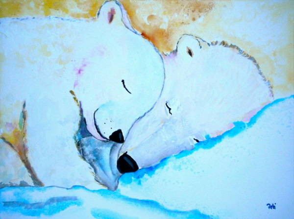 Snuggle Painting - Night Night by Debi Starr