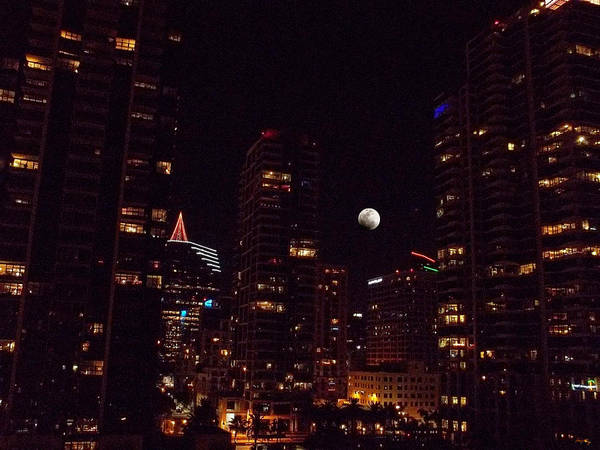 Paisaje Photograph - Night Passage - San Diego by Glenn McCarthy