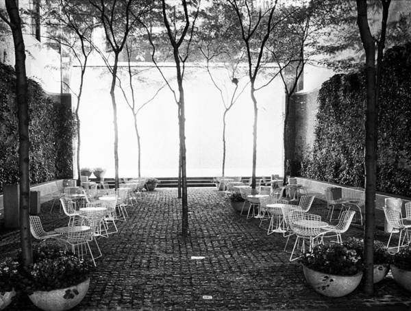 Photograph - Night Patio Enclave by Dave Beckerman
