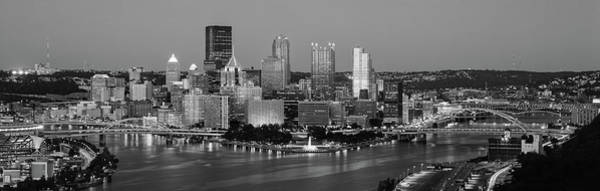 Wall Art - Photograph - Night, Pittsburgh, Pennsylvania by Panoramic Images