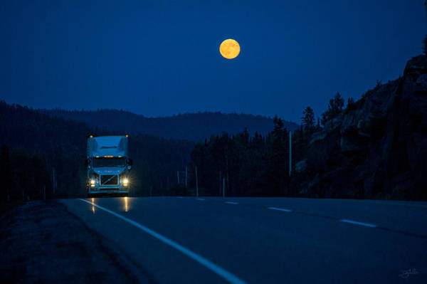 Photograph - Night Rider by Doug Gibbons