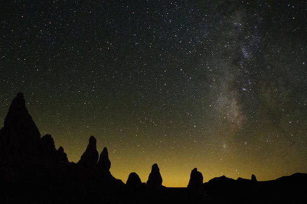 Pinnacles Photograph - Night Scene Of The Milky Way by Chasing Light Photography Thomas Vela
