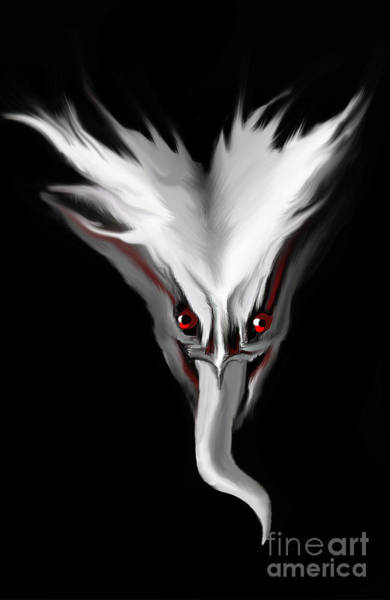 Ghoul Digital Art - Night Terror by Bel Menpes