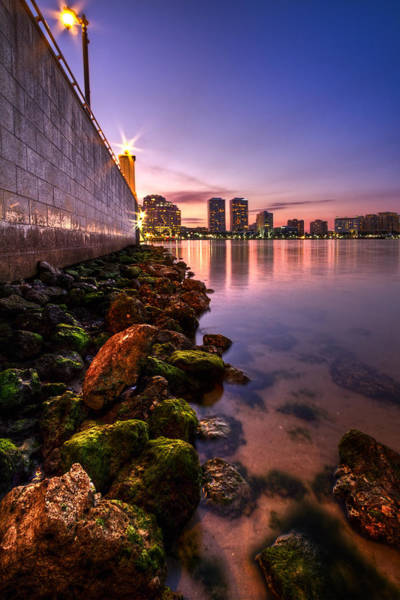 Lake Okeechobee Wall Art - Photograph - Night Tide In The Palm Beaches by Debra and Dave Vanderlaan