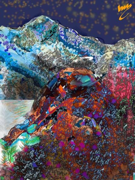 Pine Valley Digital Art - Night Time by Michael Bartlett